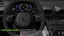 Lamborghini Huracan LP610-4 configurator launched
