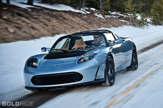 Bold School: In Depth With the Tesla Roadster
