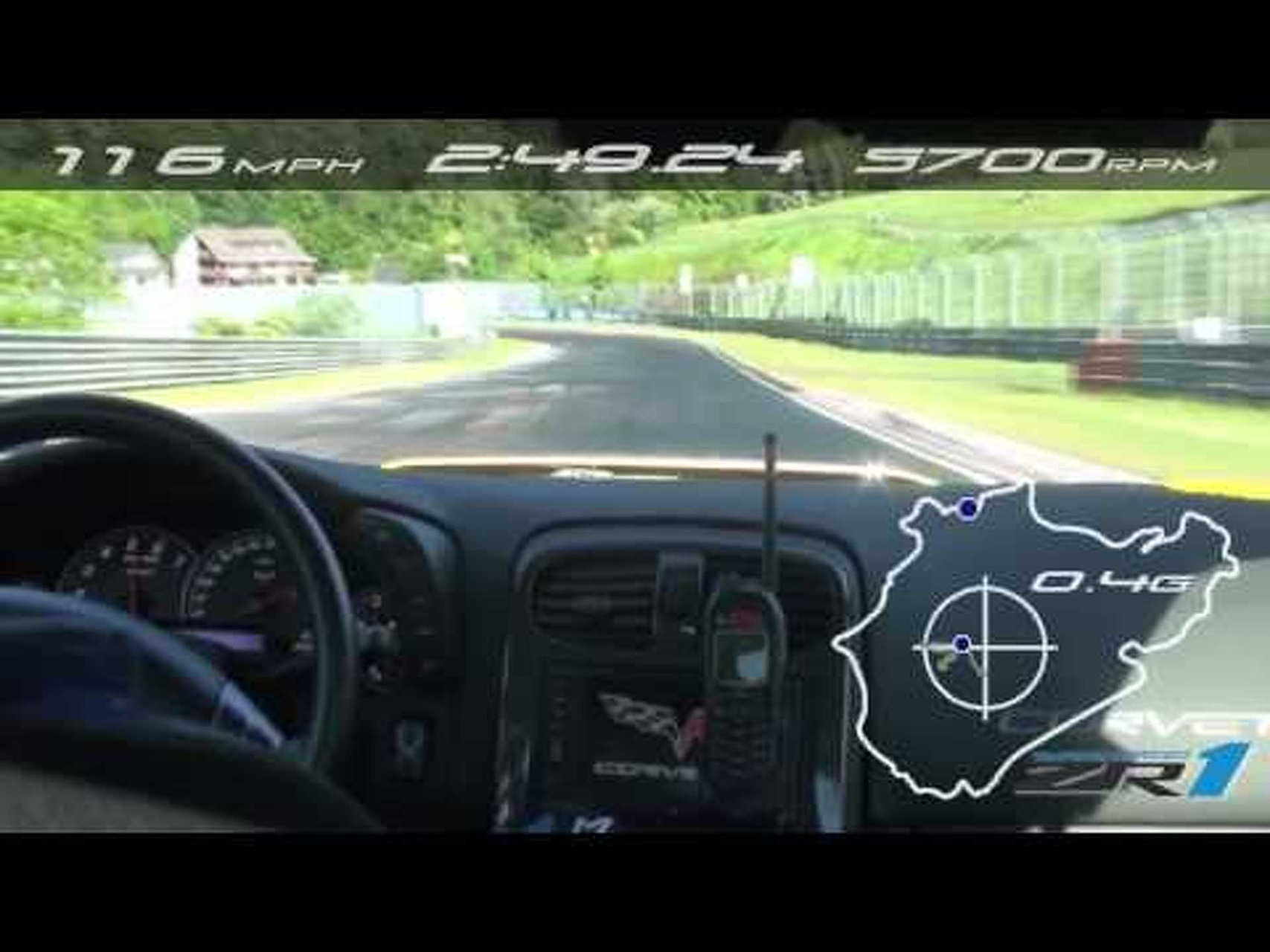 The Chevrolet Corvette ZR1 Takes on Nurburgring