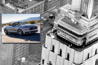 How Ford Put a Mustang Atop the Empire State Building, Again