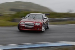 Watch a V-10 Chrysler 300C Drift Car Take the Track
