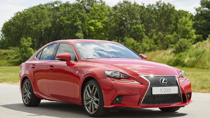 Lexus IS 200t officially unveiled with 245 PS