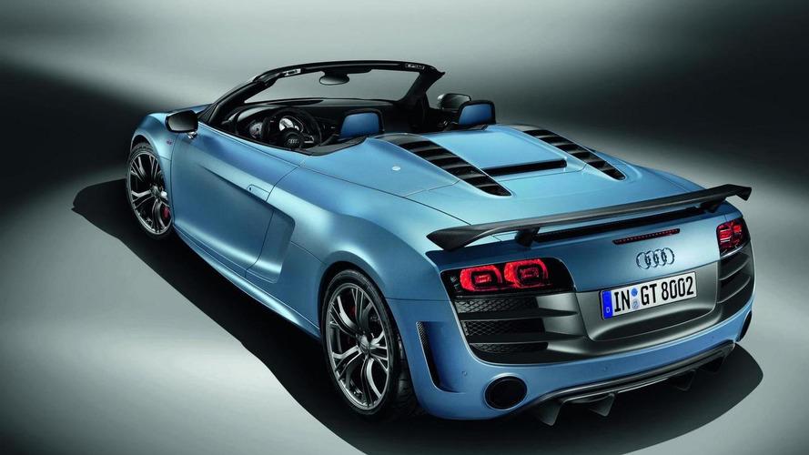 Audi R8 GT spyder promo released [video]