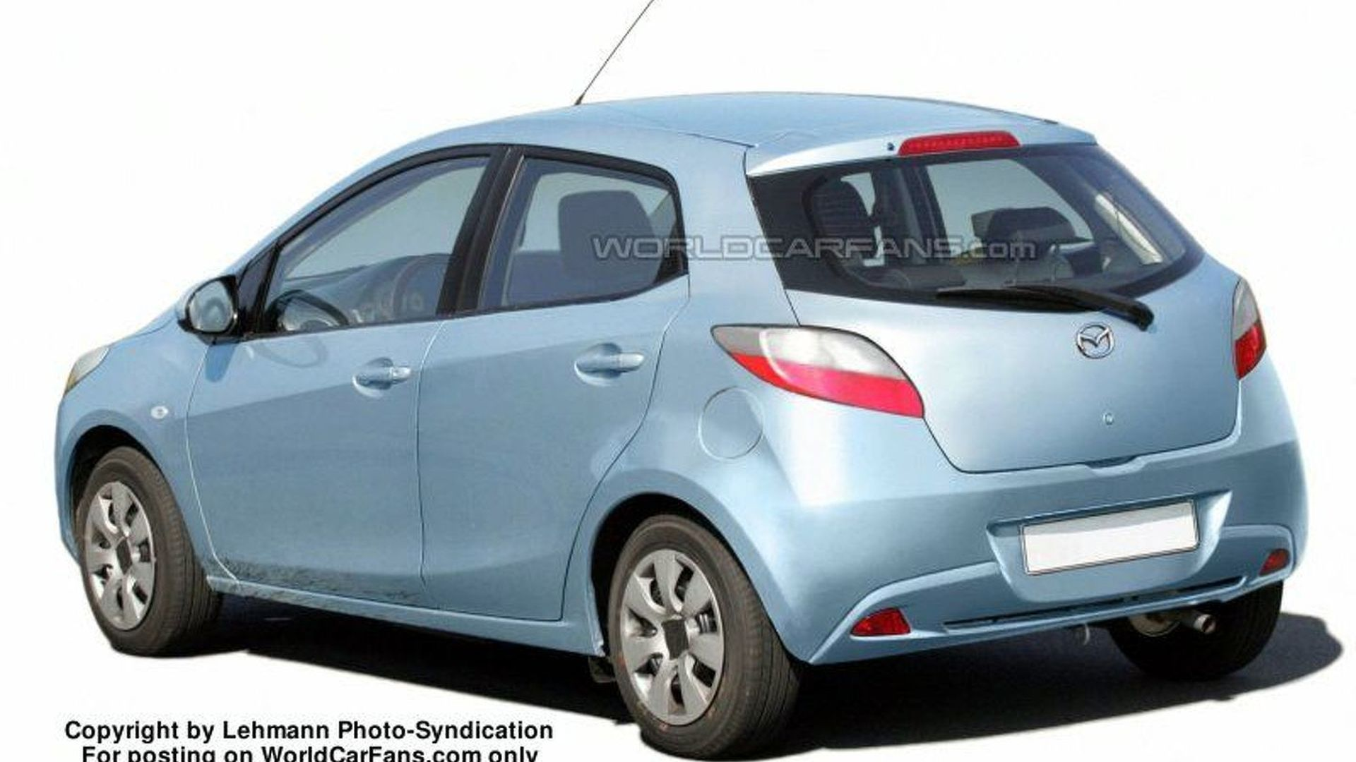 SPY PHOTOS: More Mazda2 Sedan and Wagon