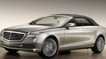 Mercedes S-Class Cabrio comes into focus - rumors