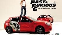 Alfa Romeo Giulietta promoted in Fast & Furious 6 [video]