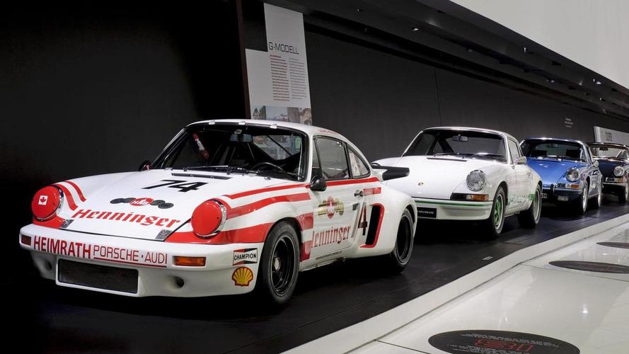 Porsche Museum celebrates the 911's 50th anniversary