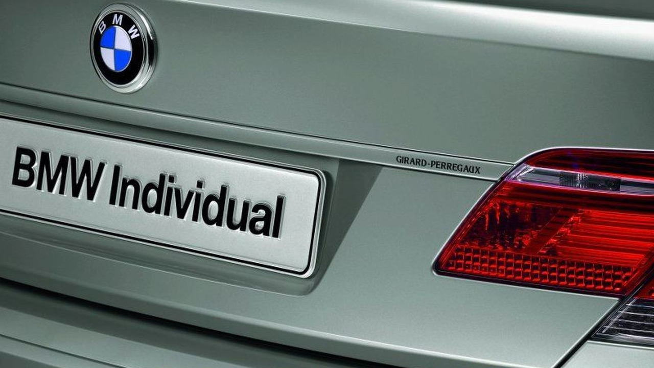 BMW Individual Debuts in North America