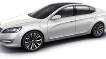Kia VG / KND-5 Concept Leaked Ahead of Seoul Motor Show Unveiling