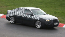 2010 Saab 9-5 First Nurburgring Spy Photos