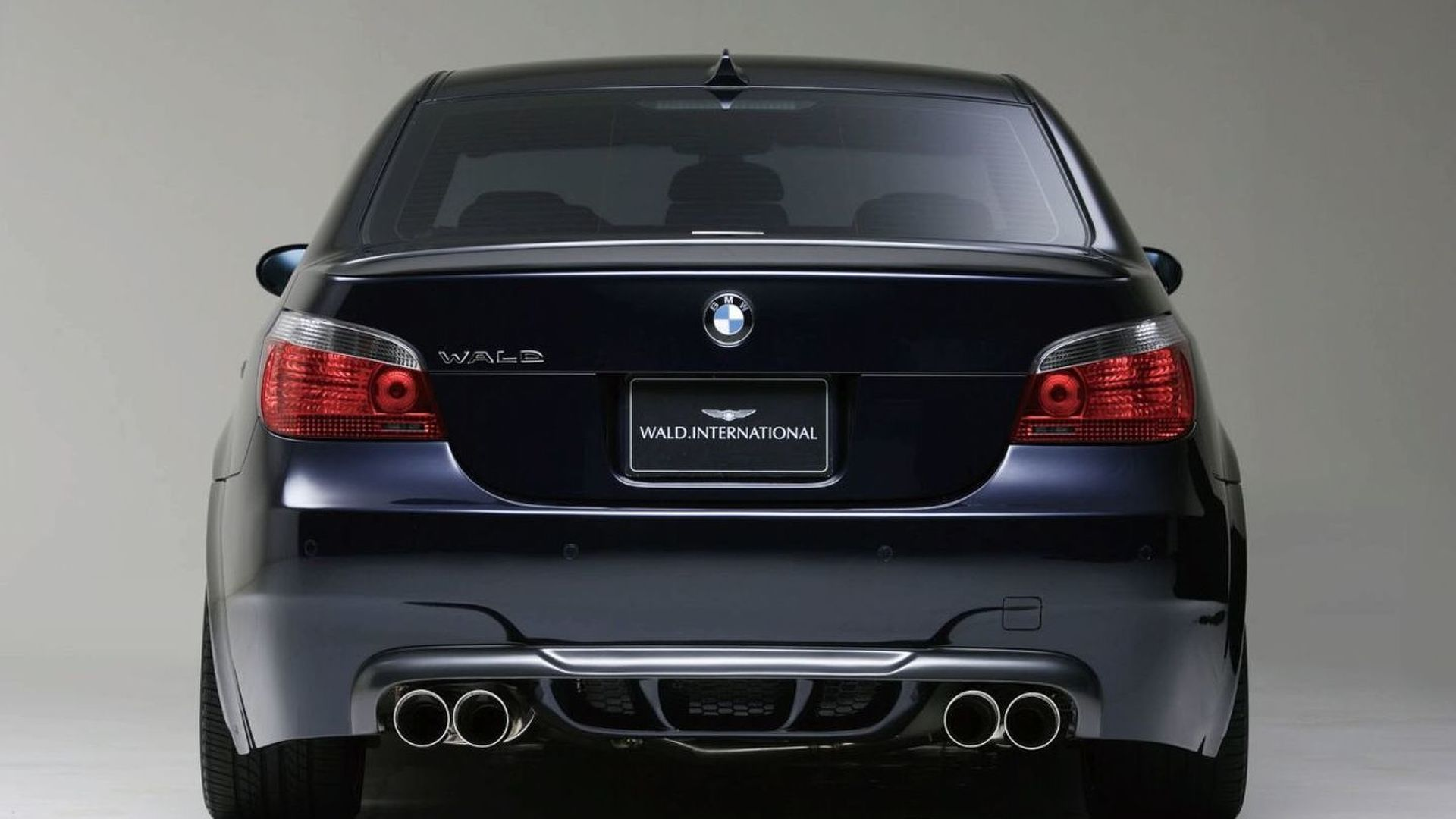 wald announces bmw m5 look for bmw 5 series e60. Black Bedroom Furniture Sets. Home Design Ideas