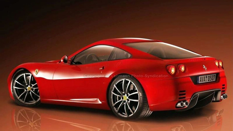 Ferrari New 2009 Dino Renderings