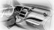 Mercedes-Benz Citan design sketch 03.02.2012