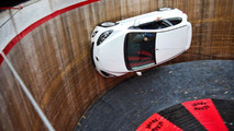 Mazda2 conquers the Wall of Death [video]
