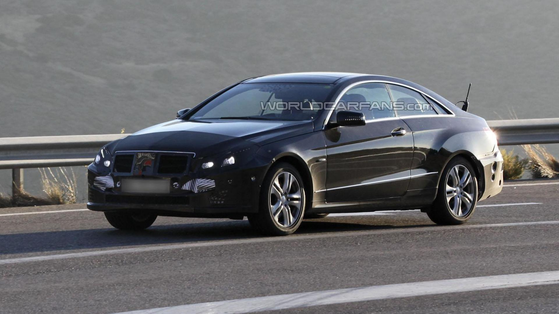 2014 Mercedes E-Class Coupe facelift spied