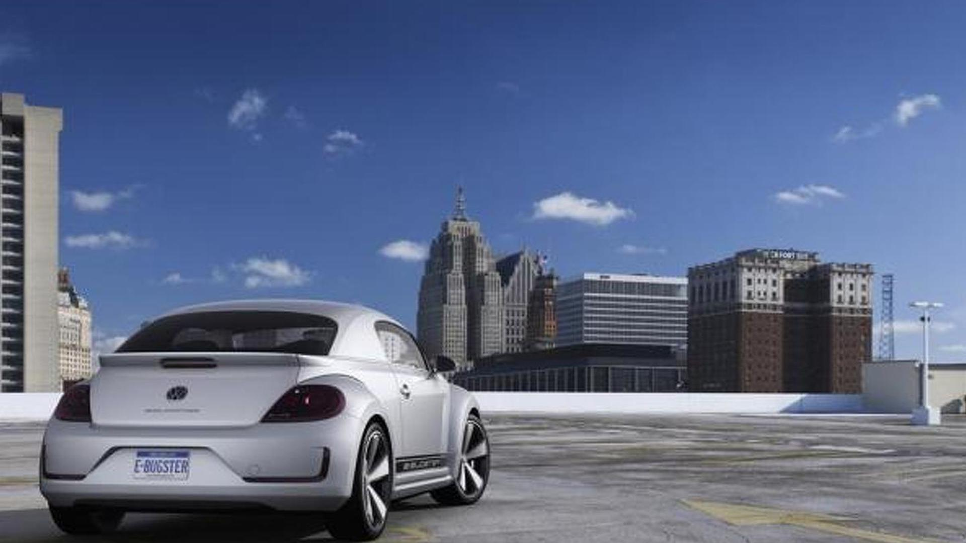 Volkswagen E-Bugster concept and 2013 Jetta Hybrid to debut in Detroit [video]