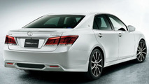 Toyota Crown facelift with TRD accessories