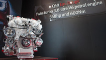 Infiniti Q50 Eau Rouge prototype tackles Goodwood [video]