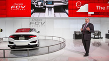 Honda FCV Concept live at NAIAS