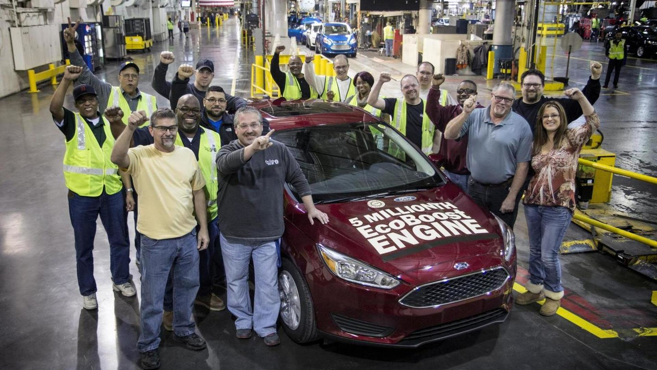 5 millionth Ford with an EcoBoost engine