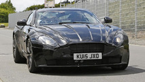2017 Aston Martin DB11 spy photo