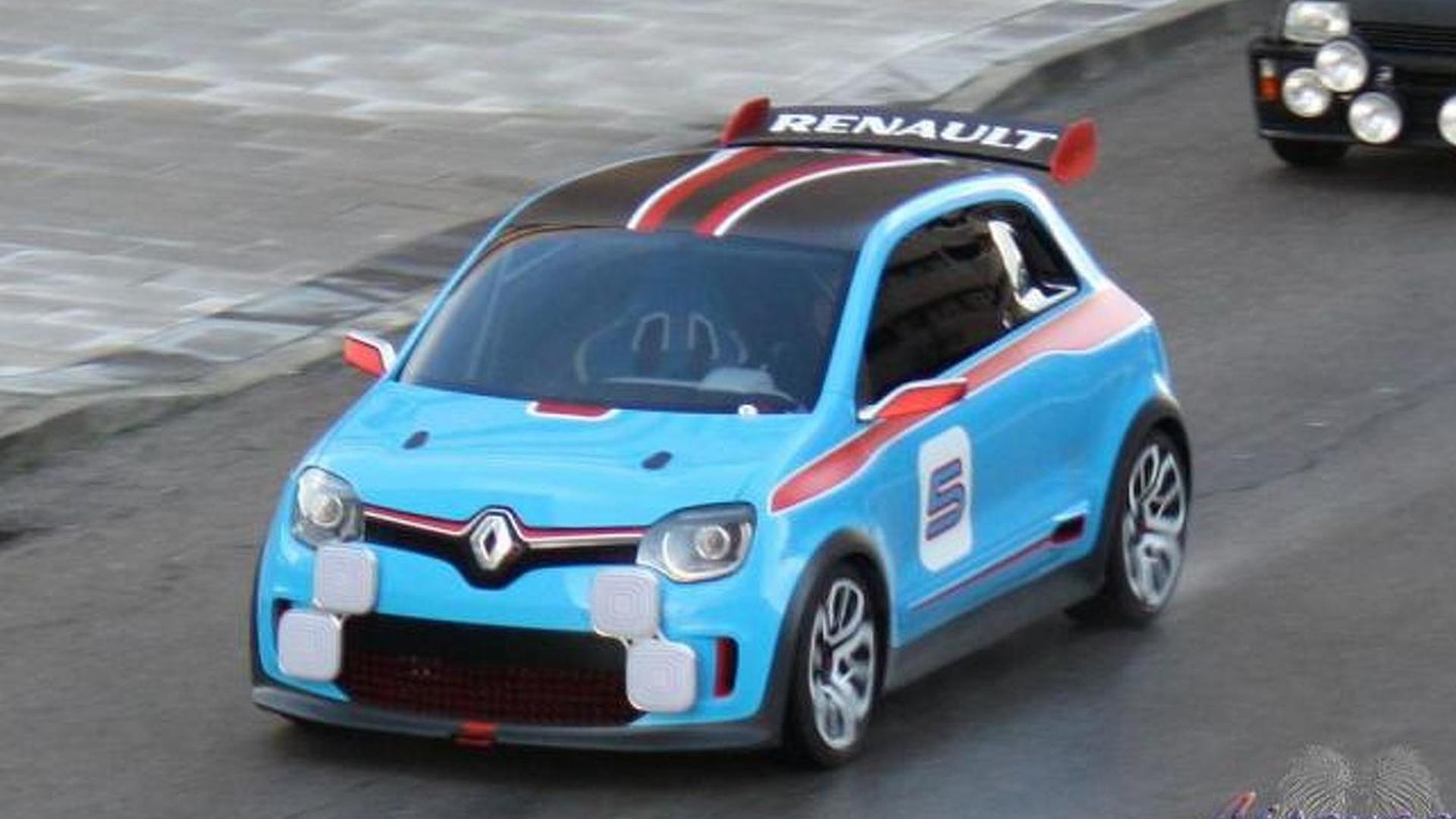 Renault TwinRun concept spotted, rear-wheel drive and mid-engined? [videos]