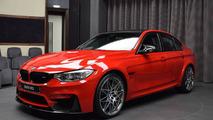 BMW M3 - Un pack Competition et une couleur rouge... Ferrari !