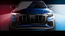 Audi Q8 E-tron concept teased ahead of Detroit debut