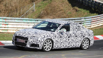 Next generation Audi S4 Sedan and S4 Avant spied on the Nurburgring