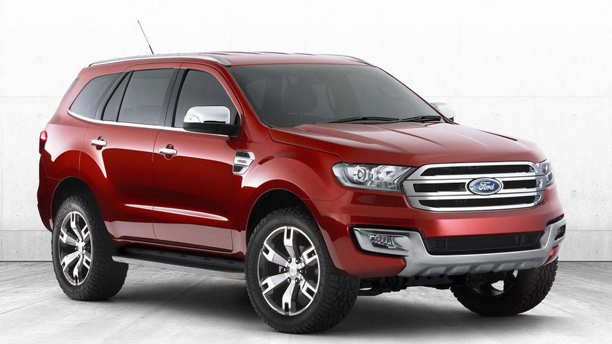Ford Everest concept unveiled in Australia