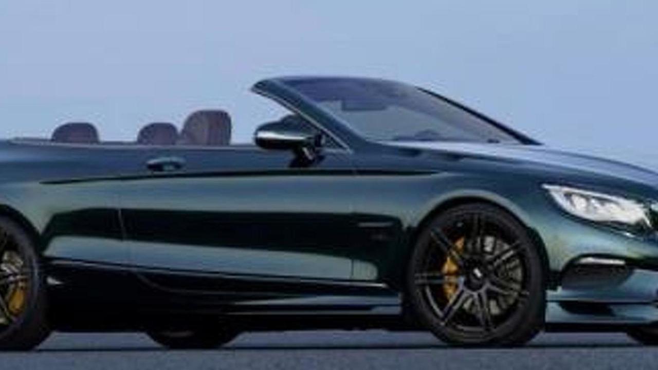 Mercedes-Bens S-Class Cabriolet render