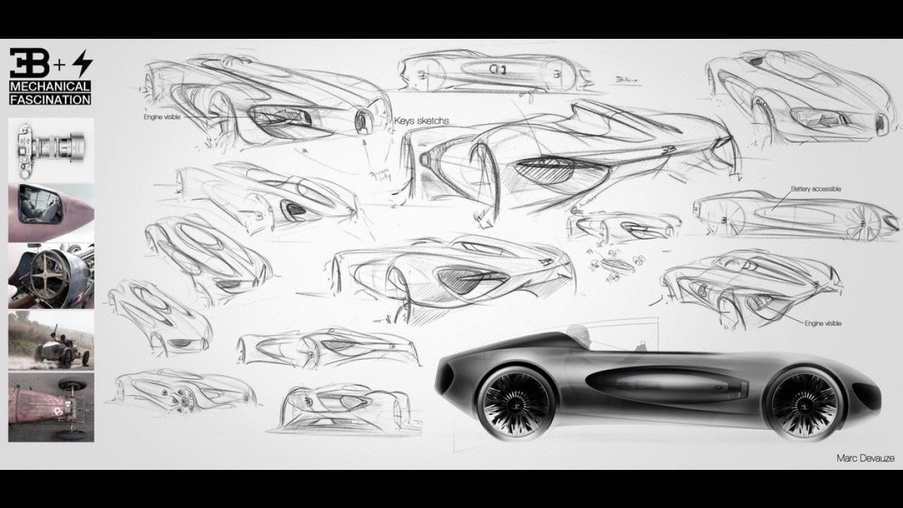 Bugatti TypeZero Concept