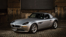 Bond fans rejoice as barely used BMW Z8 is being auctioned