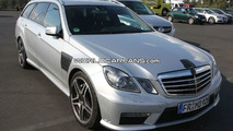 2010 Mercedes Benz E 63 AMG Wagon AMG Spied in Daylight
