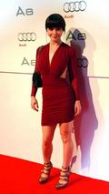 Christina Ricci, actress, at 2011 Audi A8 unveiling, 01.12.2009