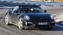 2015 / 2016 Porsche 911 Turbo Cabrio spy photo
