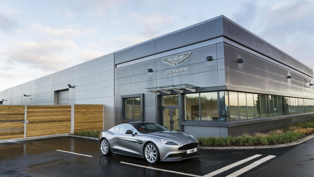 Aston Martin development center at the MIRA Technology Park