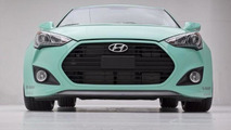 Hyundai JP Edition Veloster Concept introduced at SEMA [video]