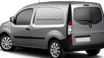 Mercedes-Benz Citan speculative rendering 12.03.2012