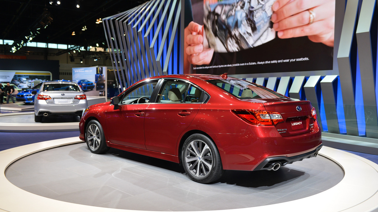 refreshed 2018 subaru legacy debuts at chicago auto show autos post. Black Bedroom Furniture Sets. Home Design Ideas