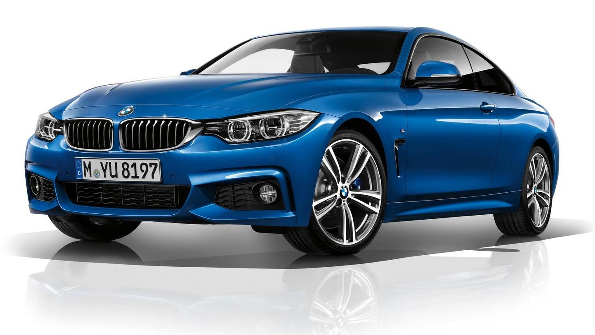 2014 BMW 4-Series Coupe leaked