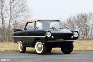 It Even Floats: The Story of the Amphicar