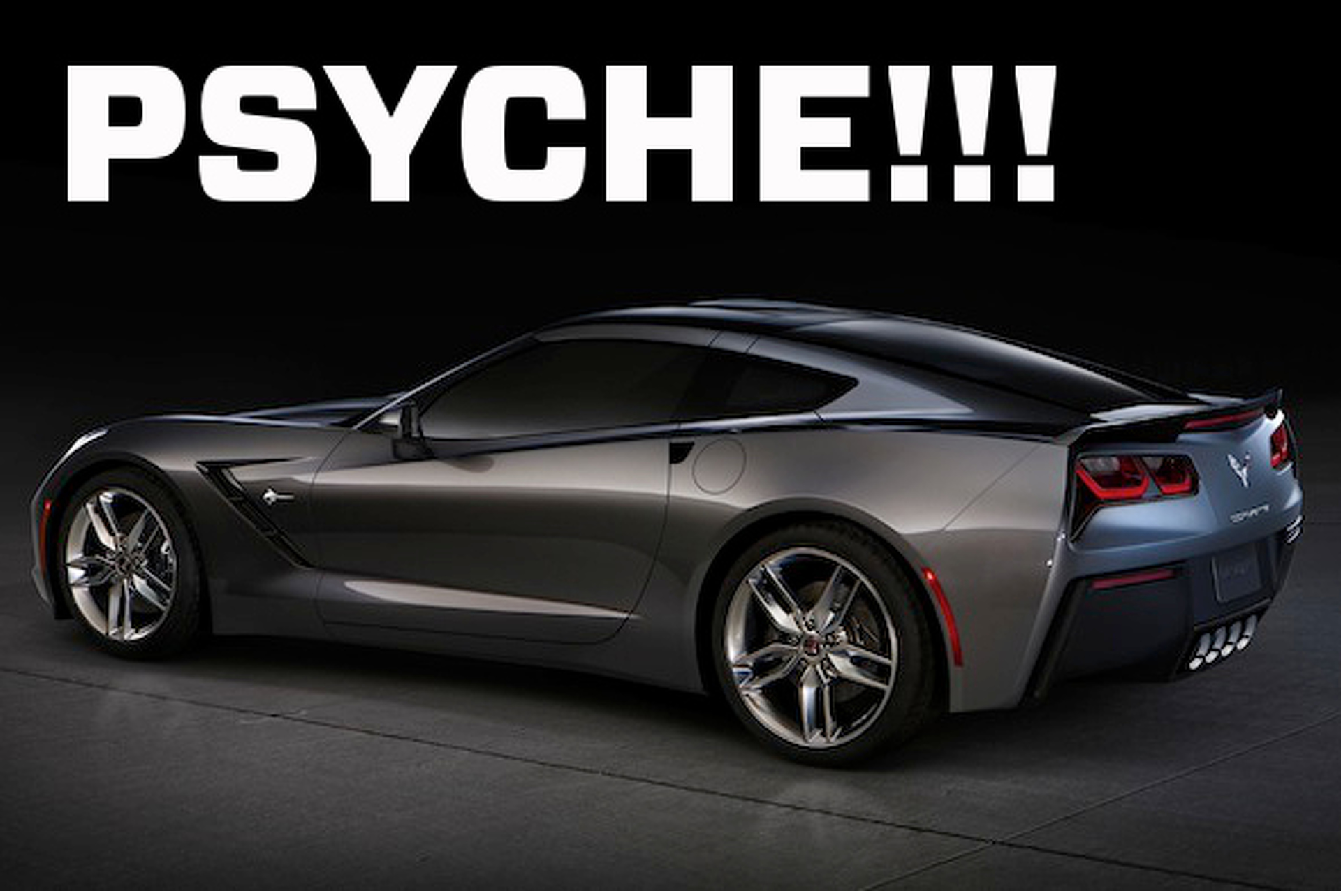 Chevrolet Corvette Stingray Bait-And-Switch?
