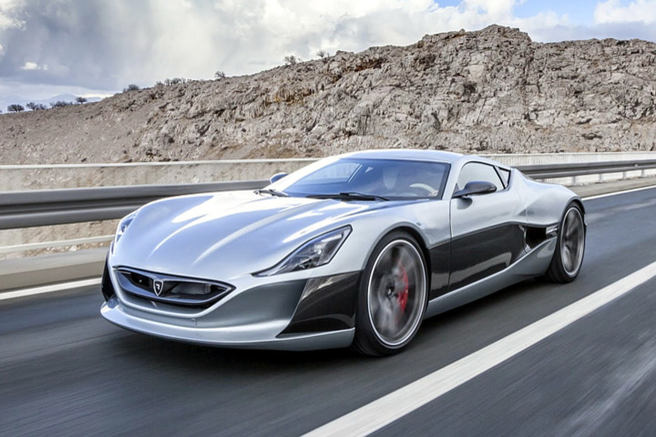 Croatian Company Rimac Bringing Concept_One Electric Supercar to Geneva