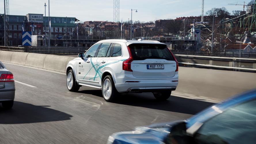 Volvo XC90 Drive Me test vehicle
