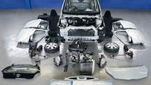 Toyota Aygo dismantled