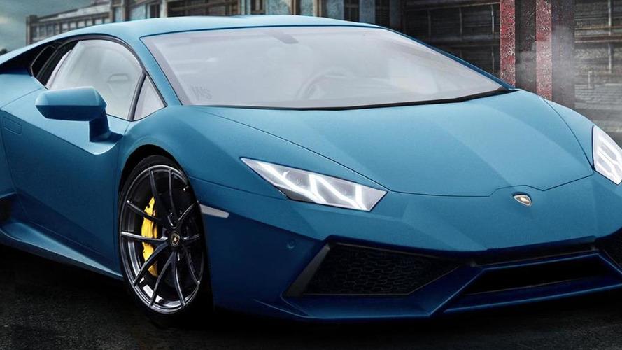 2014 Lamborghini Gallardo successor rendered