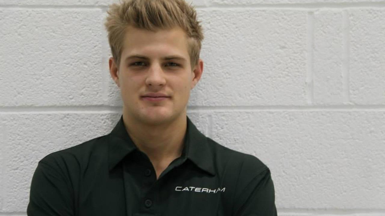 Marcus Ericsson Caterham F1 Team Leafield UK