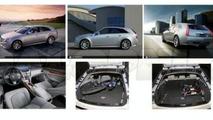 Cadillac CTS Wagon Leaked