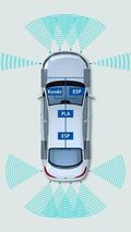2012 Volkswagen CC facelift - Cameras, radar and ultrasonic sensors provide data for assistance systems